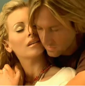 Niki Taylor and Keith Urban