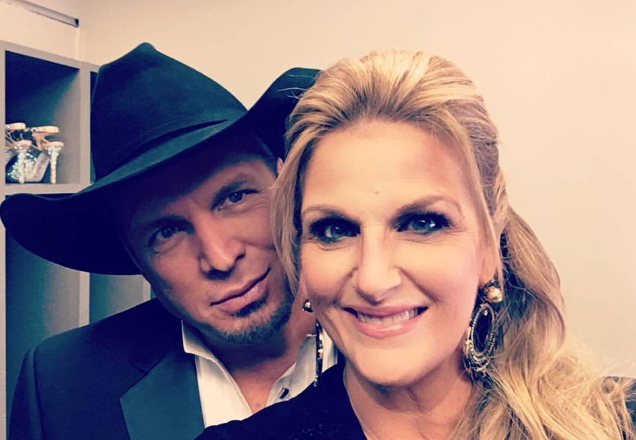 trisha yearwood thanksgiving with garth brooks