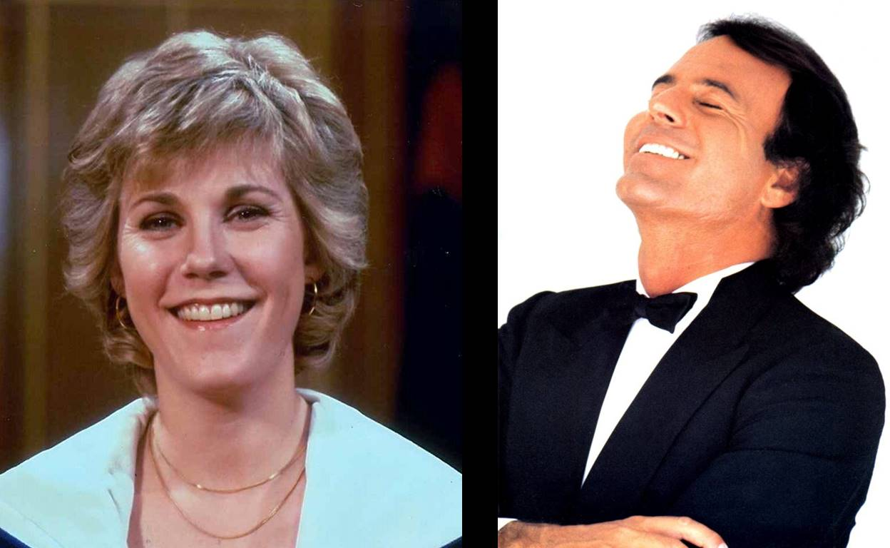 Anne Murray and Julio Iglesias