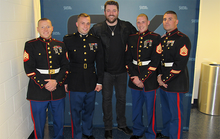 chris young toys for tots