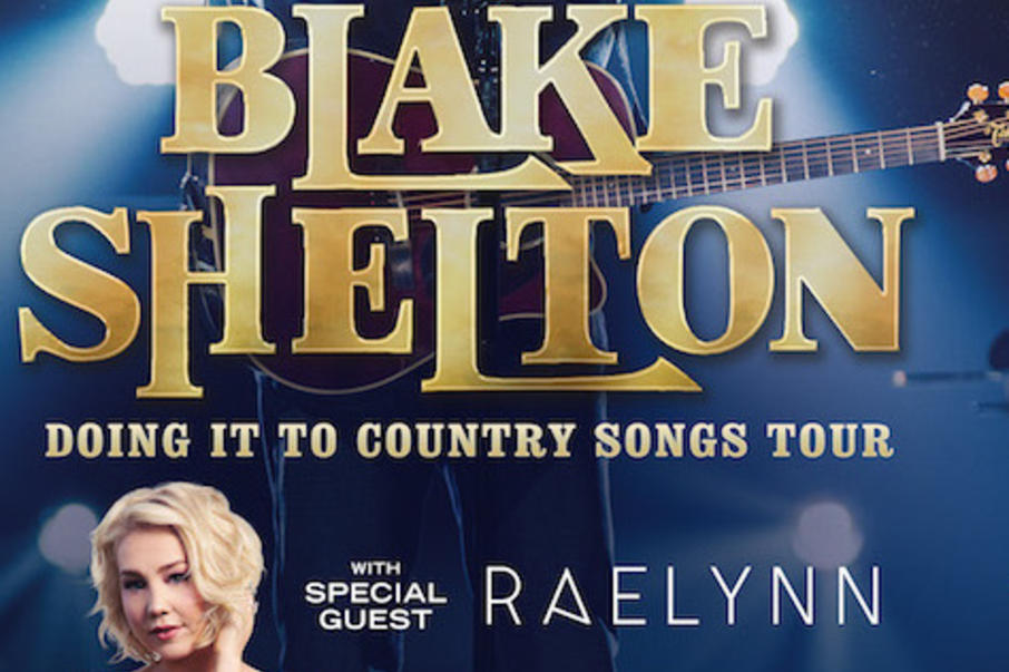 Blake shelton tour 2017