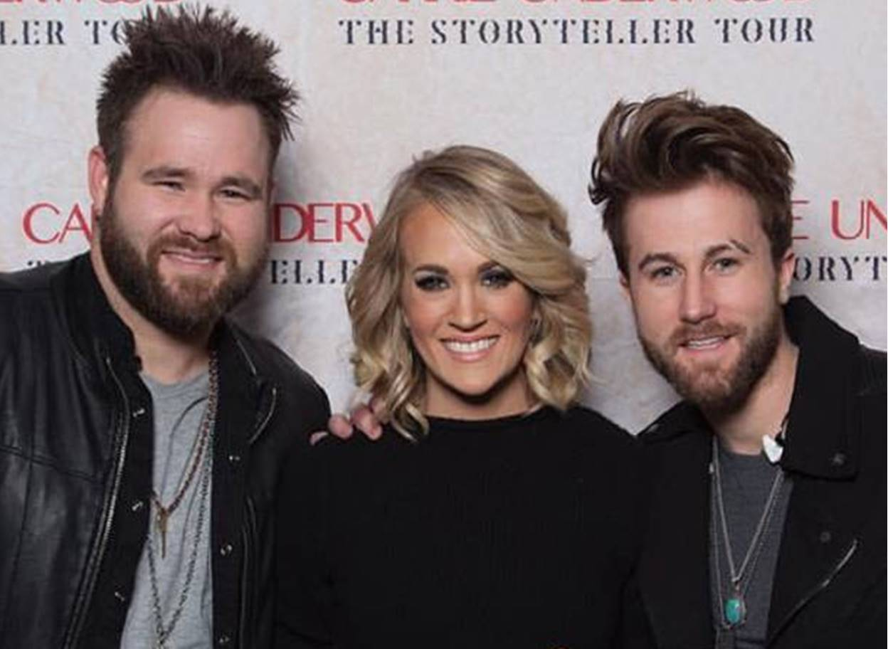 storyteller tour carrie underwood with the swon brothers