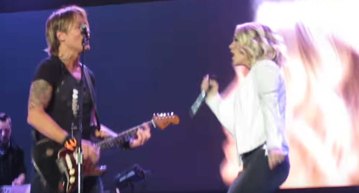Carrie Underwood Keith Urban Duet
