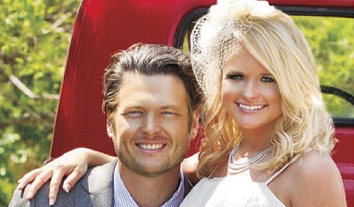 Blake Shelton Miranda Lambert Wedding Photo