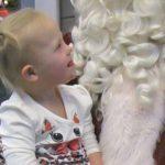 Indy Feek Meets Santa, Lands on