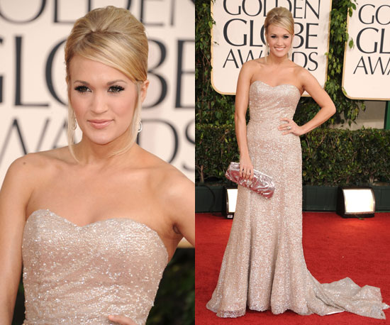 carrie underwood golden globes