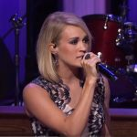 Carrie Underwood Dirty Laundry