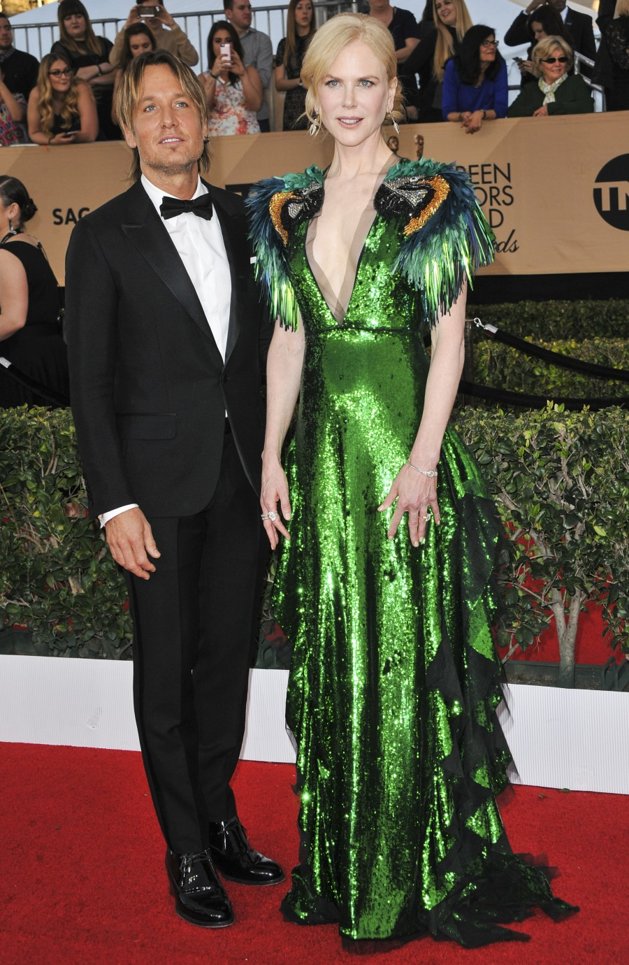 nicole kidman and keith urban sag awards