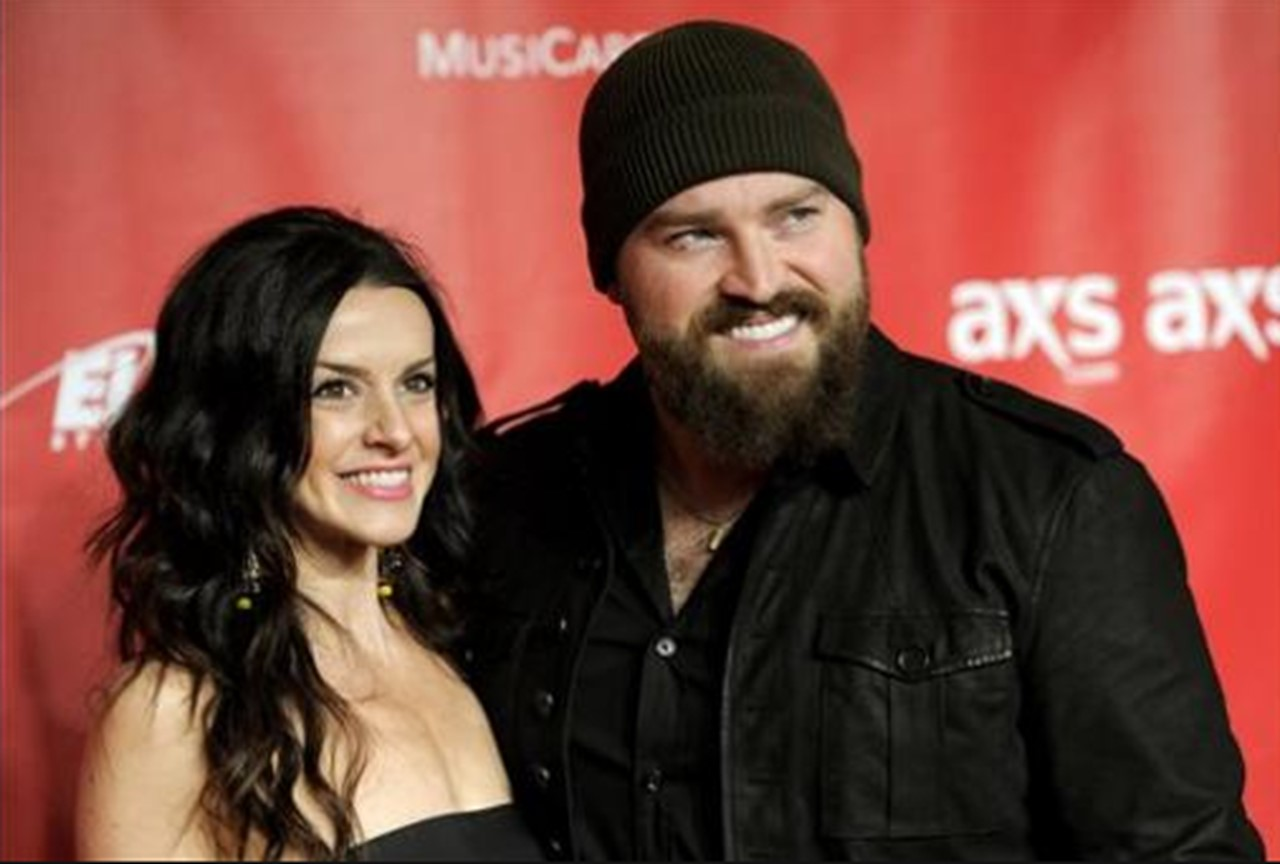 zac brown and wife shelly brown