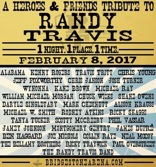 randy travis tribute