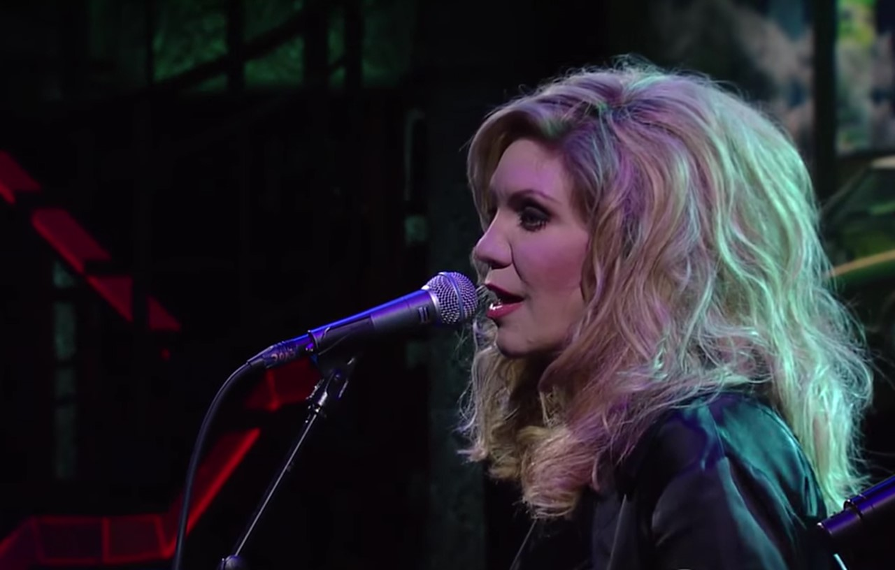alison krauss performs willie nelson�s �i never cared for