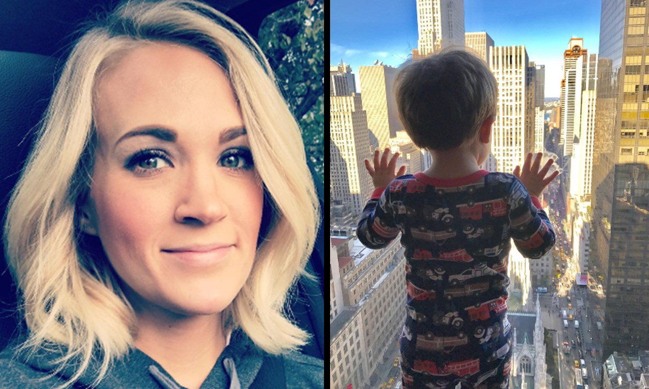 carrie underwood son