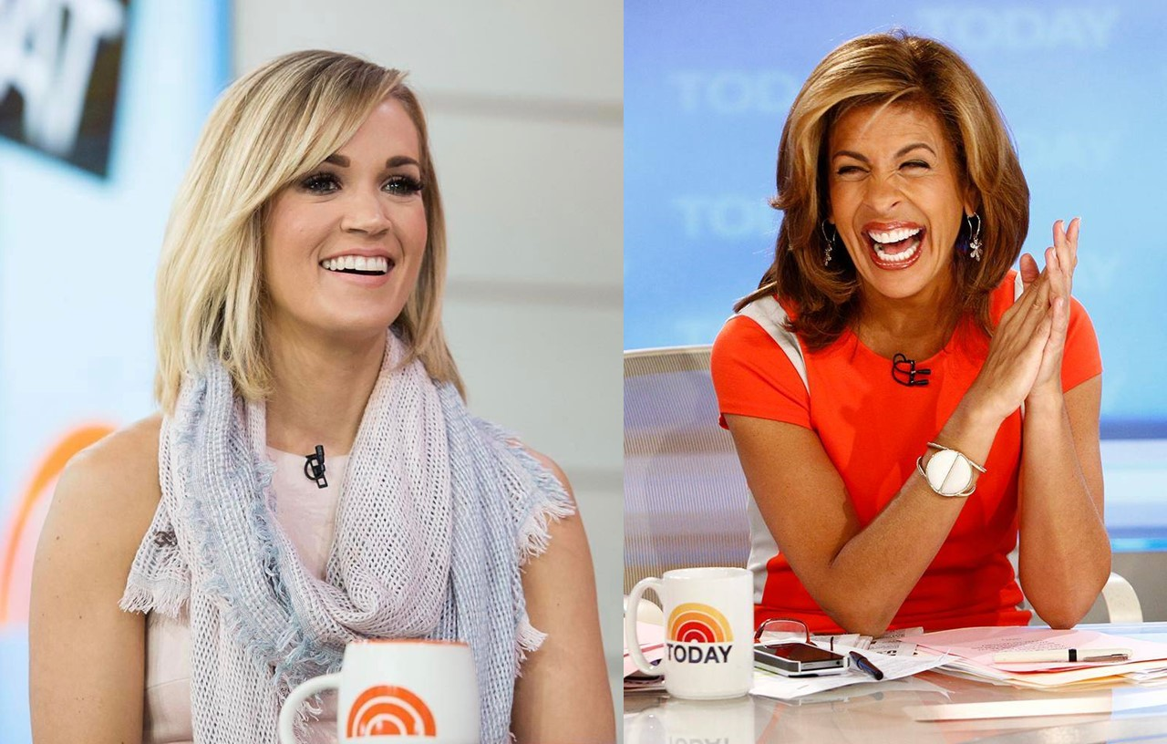 carrie underwood hoda kotb