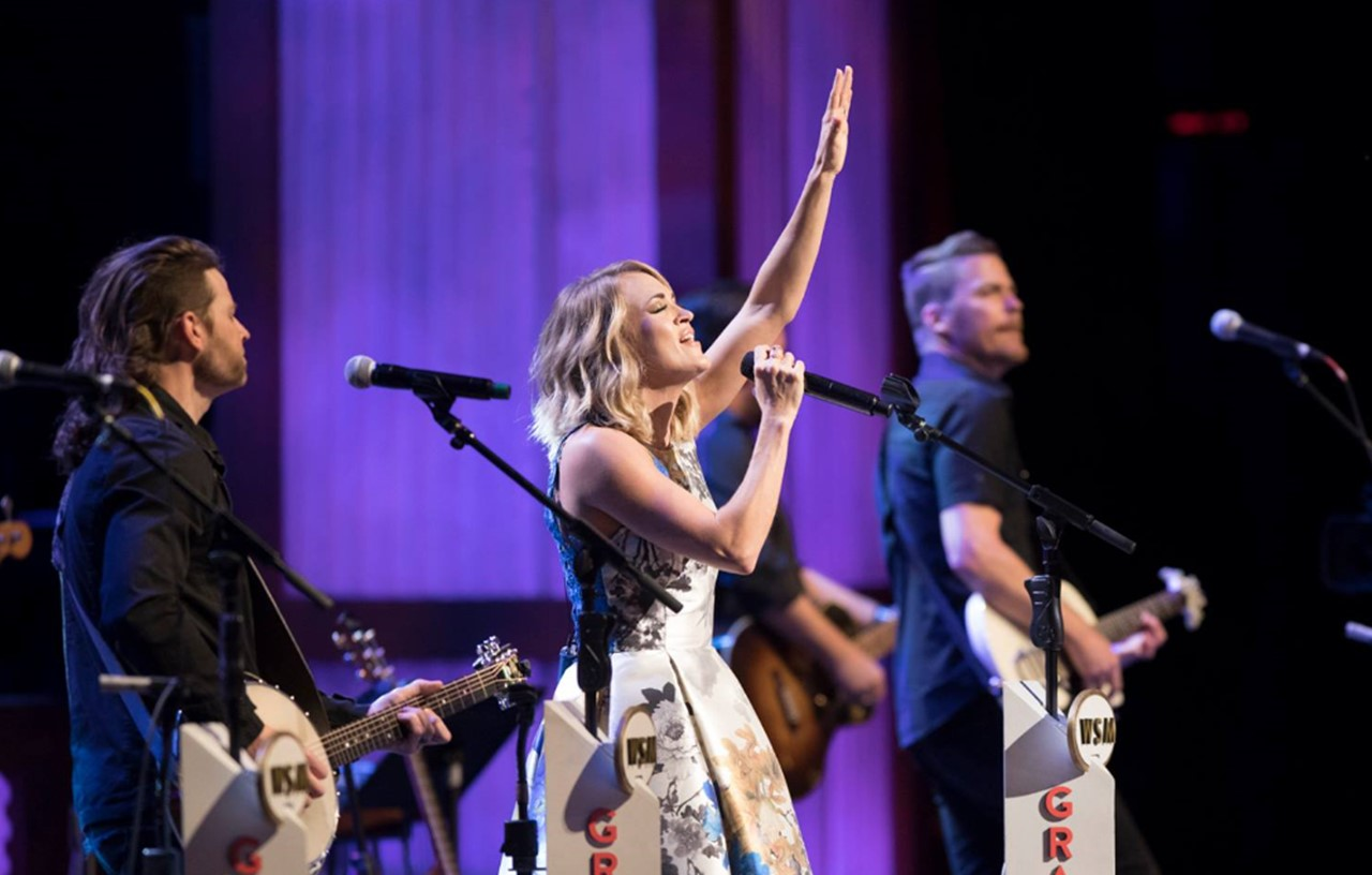 Carrie Underwood Marks 100th Grand Ole Opry Performance