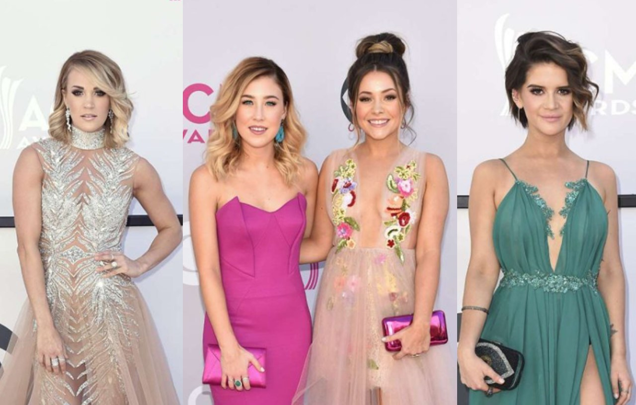 2017 acm awards fashion