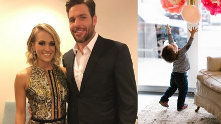 carrie underwood husband son