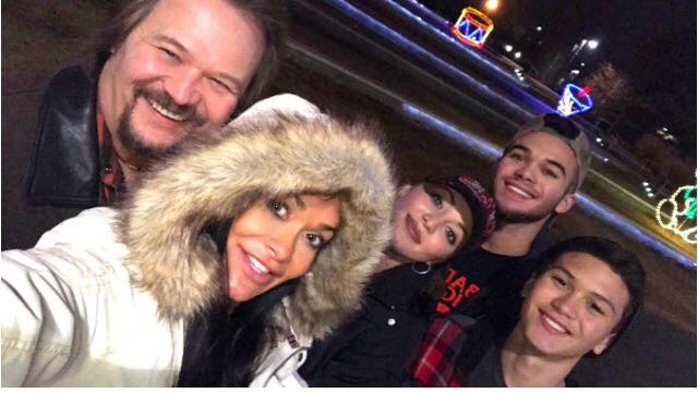 travis tritt family
