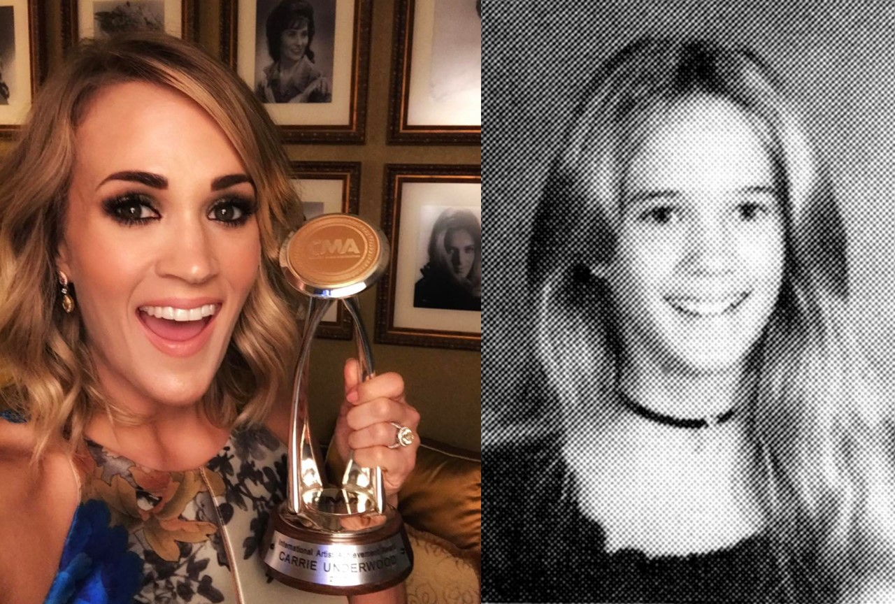 carrie underwood childhood