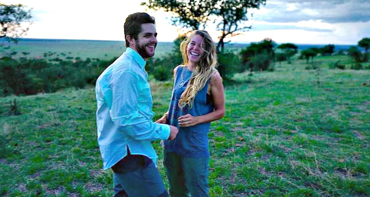 Thomas Rhett and wife