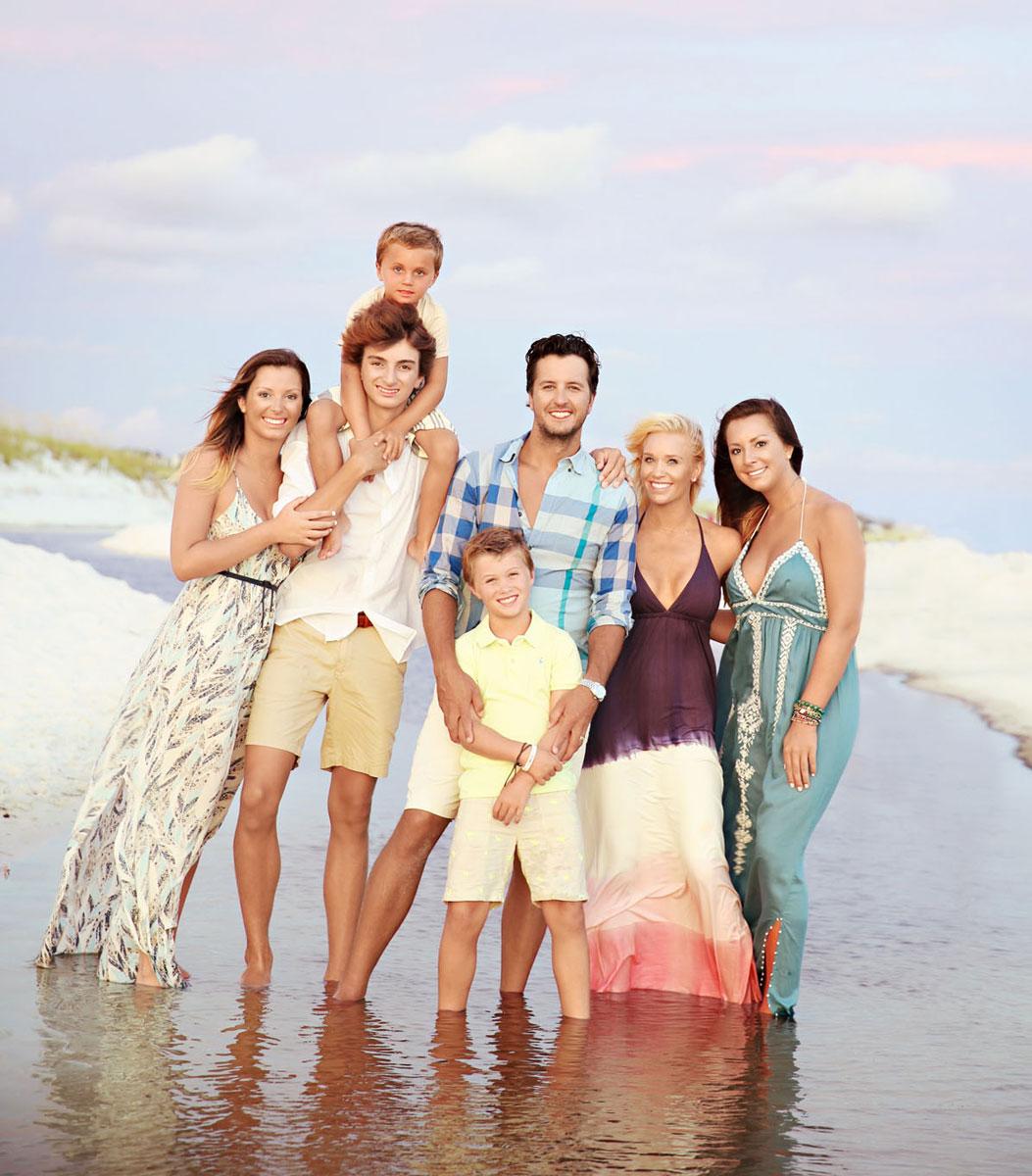 Luke Bryan Family