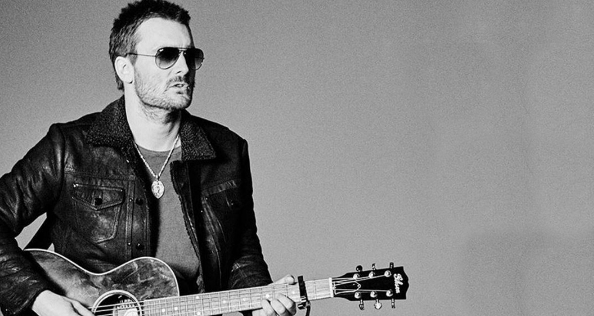 Eric Church rusty cage