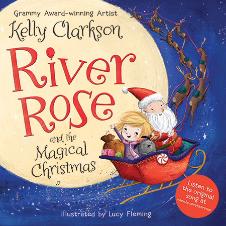 Kelly Clarkson to release Christmas book inspired by daughter