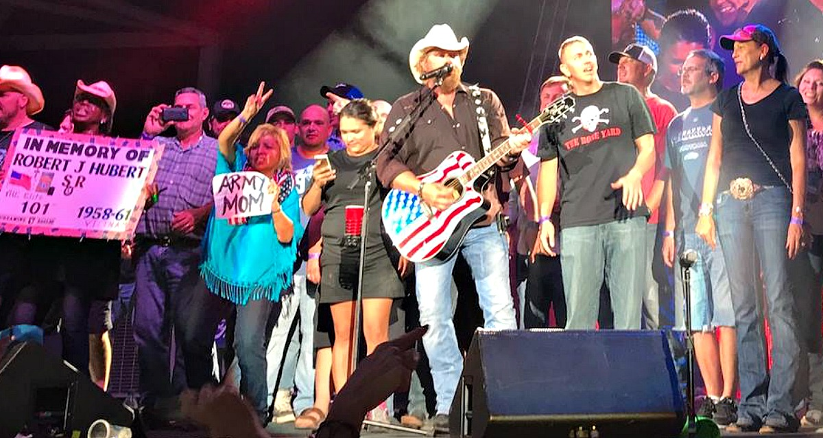 Toby Keith with Top 5 songs about America