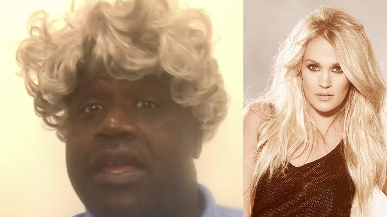 shaquille oneal carrie underwood