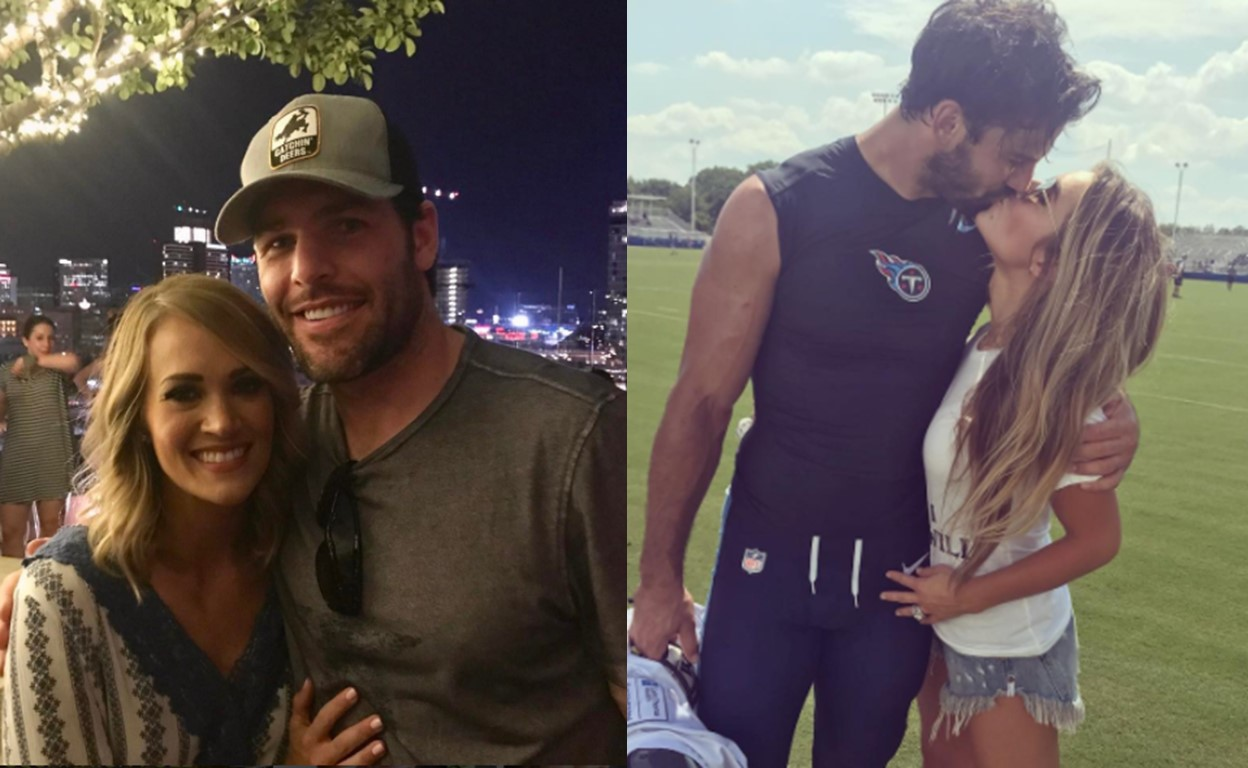 country women married professional athletes