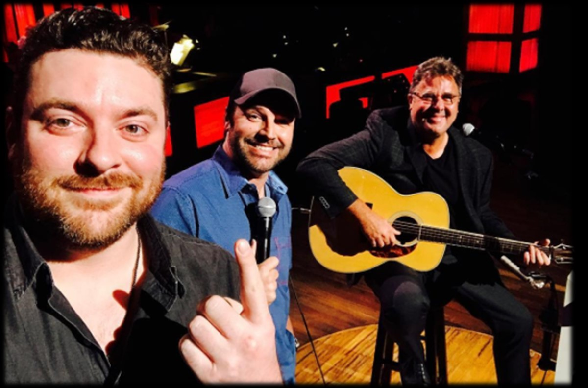 Watch Vince Gill Surprise Chris Young with Grand Ole Opry Induction
