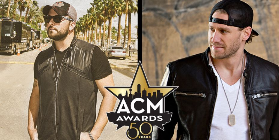 Tyler Farr & Chase Rice are Semi-Finalists for 'New Artist of the Year' Honor at the ACM Awards!