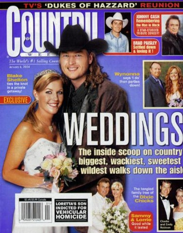 blake shelton and kaynette williams wedding