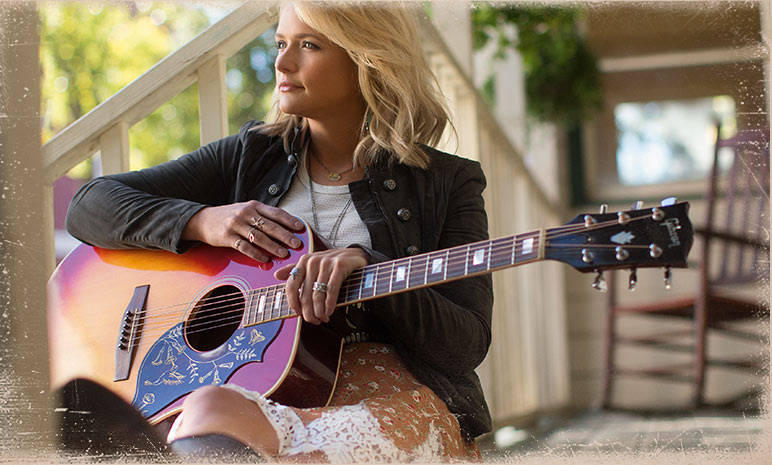 "Miranda Lambert has released a new single titled ""Sweet By and By"""
