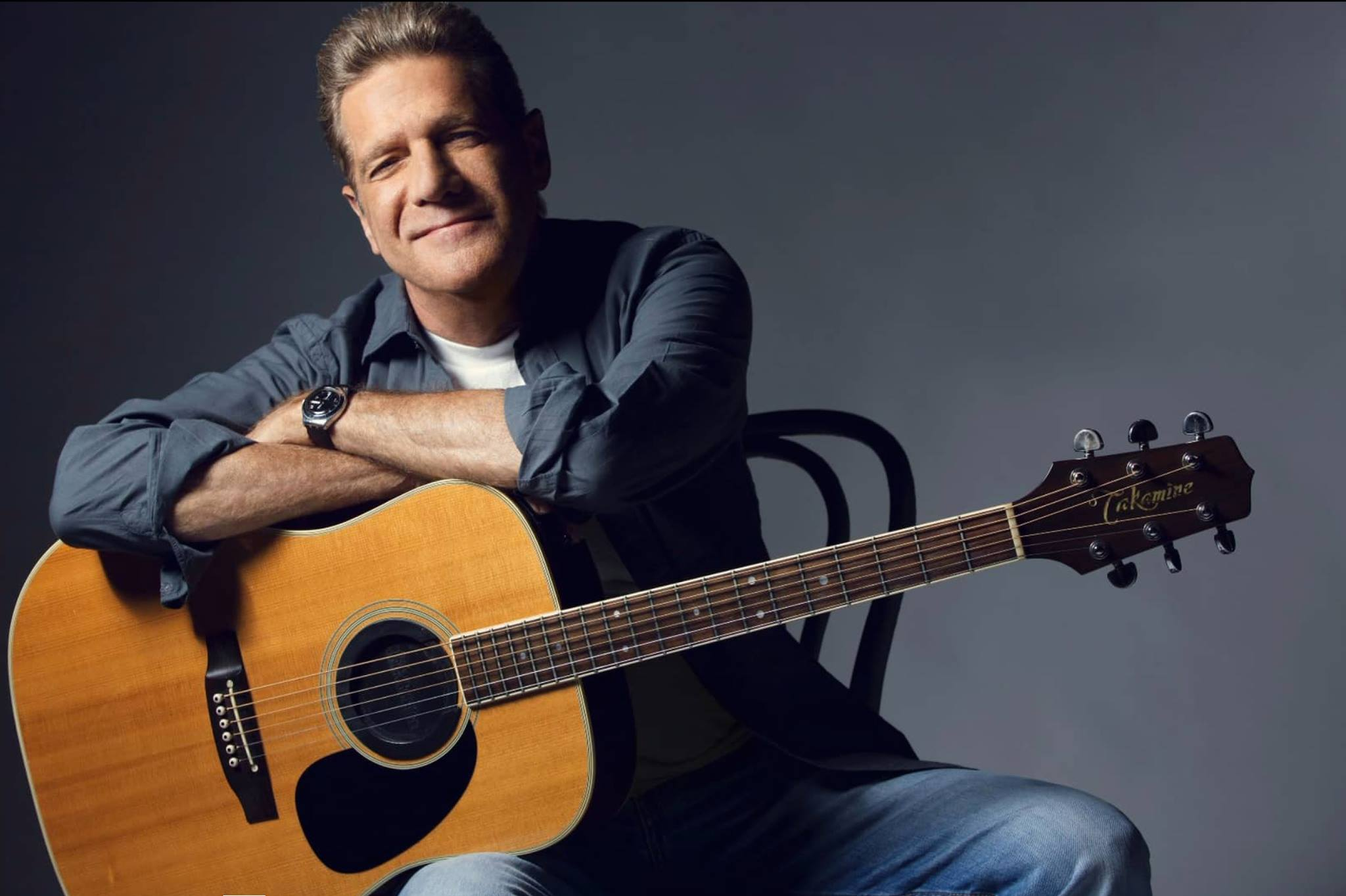 glenn frey with guitar
