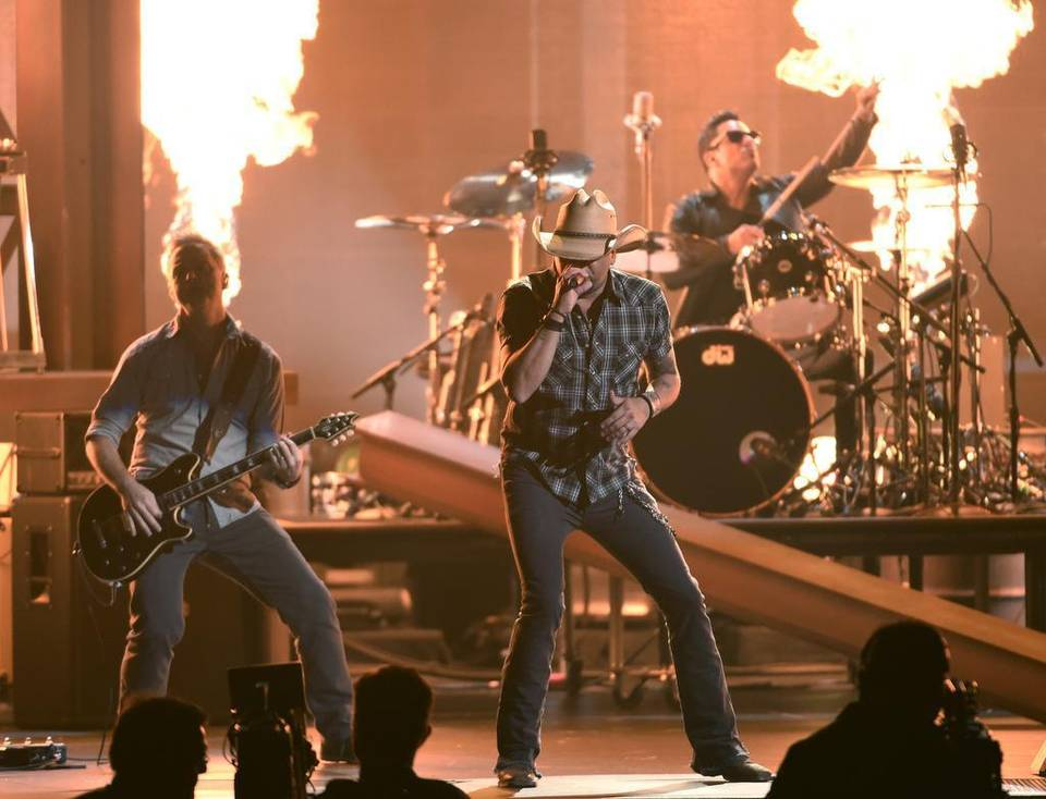 Jason Aldean has a lot to be thankful for