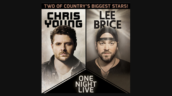 Chris Young and Lee Brice on Tour