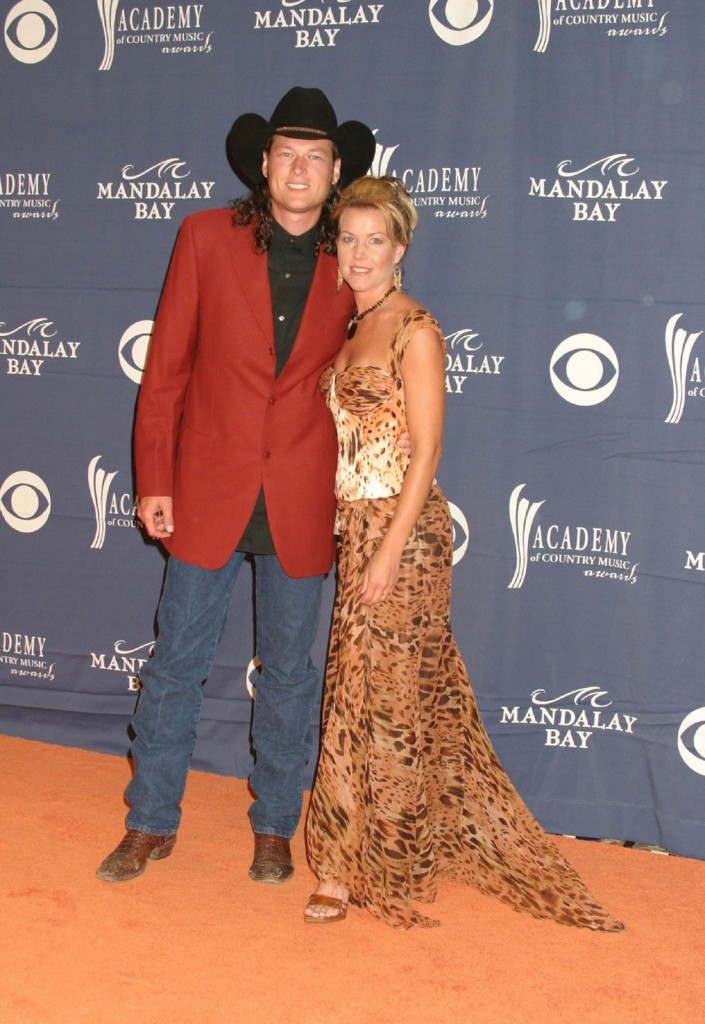 Blake Shelton and Kaynette Williams