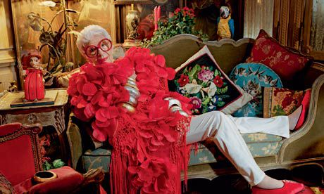 Iris Apfel is fabulous