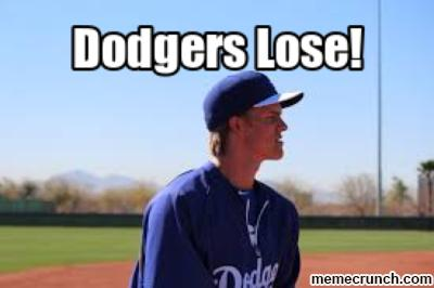 Dodgers Lose Again!