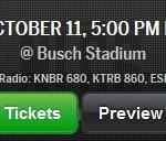 SF Giants NLCS Schedule - 2014