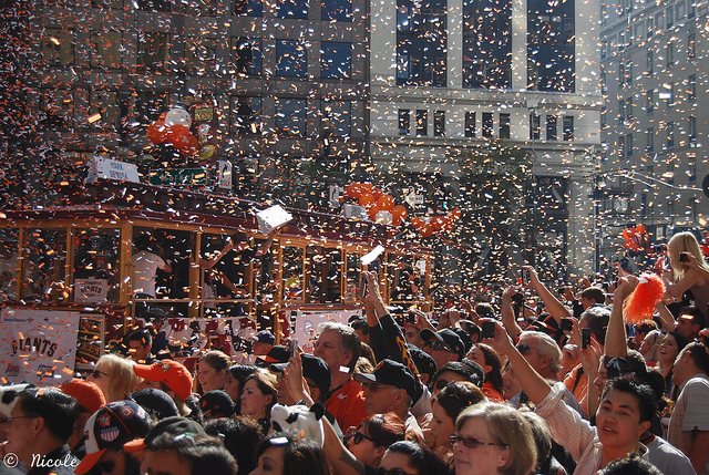 SF Giants Parade