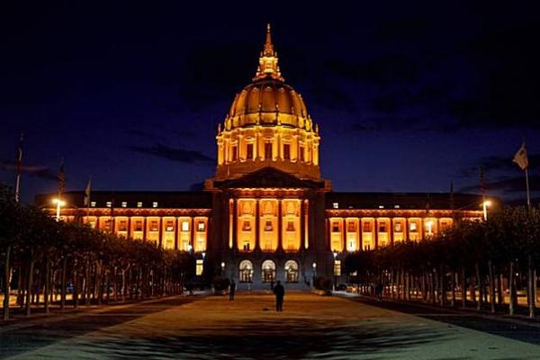SF Giants City Hall is Orange!