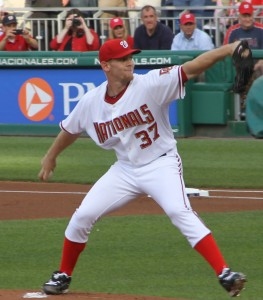 Strasburg losing to SF Giants