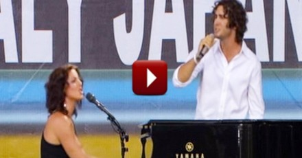 Josh Groban And Sarah McLachlan – what a great duo…