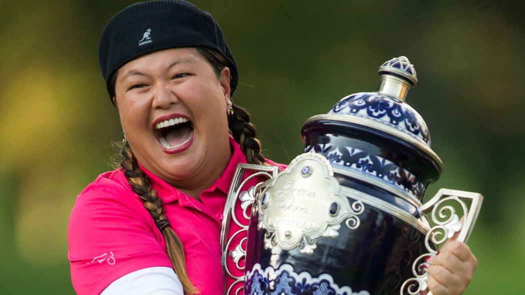 Check out this great article about Christina Kim`s emotional return to the LPGA winner`s circle. . . . .