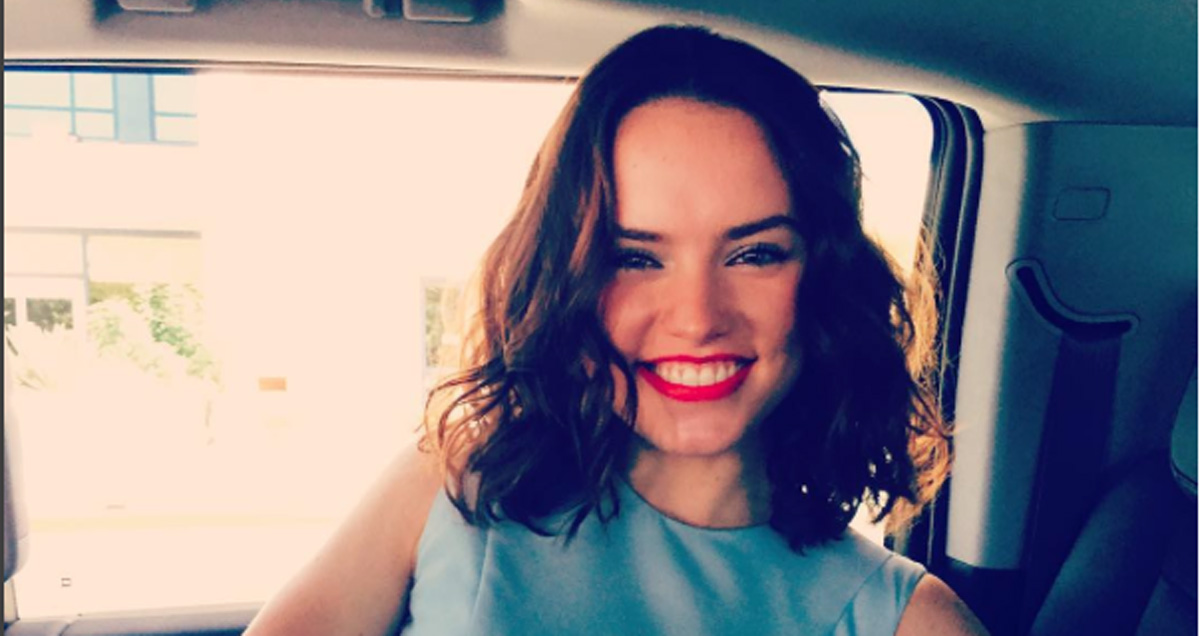 Daisy Ridley shares some exciting personal news with her fans!