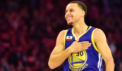 Stephen Curry : 1 million Twitter followers – Thank you!