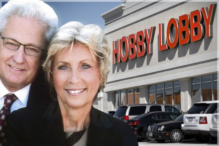 Hobby Lobby has always contended that even though it won't provide employees with comprehensive contraceptive coverage, it really is a