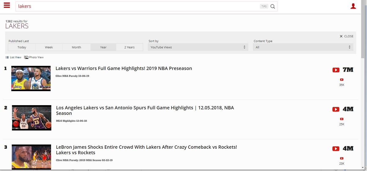 Lakers Top 3 videos