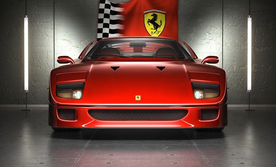"""Ferrari's """"prancing horse"""" logo was given to Enzo by Countess Baracca, whose late World War I flying ace son Francesco had used it as"""
